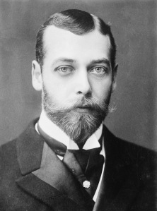 Prince George, the future King George V, 1893.