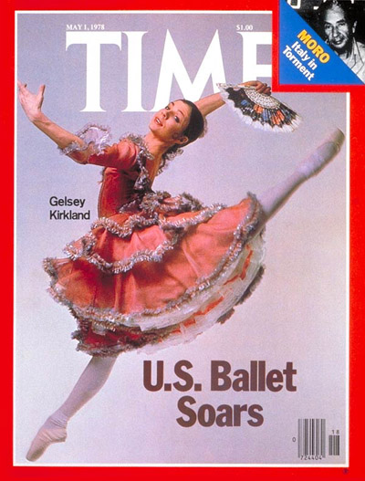 time-kirk Time Magazine Gelsey Kirkland American Ballet Theatre 1sy May 1978
