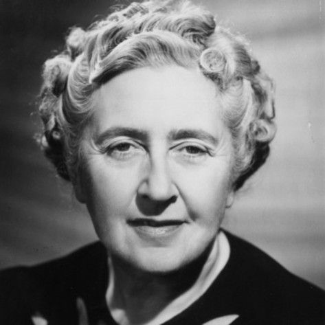 Agatha Christie was born in 1890 and died in 1976.