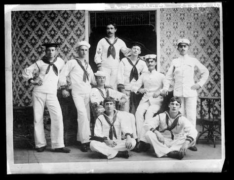 Group_of_sailors_(6544109891) 21st September 1906 Ulster Northern Ireland Ireland Early 20th Century Irish History Edwardian Era