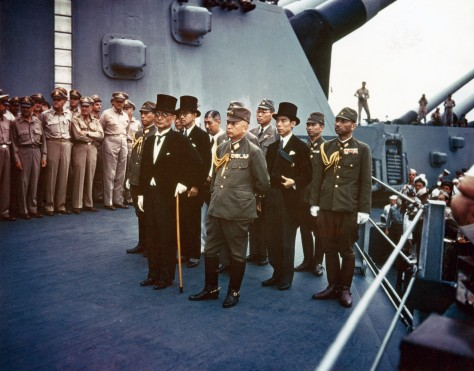 (Color) Surrender of Japan, Tokyo Bay, 2 September 1945
