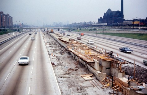 19680922_01_CTA_Sox_35th_station_under_constructionSox–35th is a station on the Chicago Transit Authority's 'L' system, located in Chicago, Illinois. 22nd September 1968