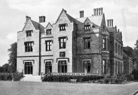 Nocton_Hall_1901 Nocton Hall as it appeared in Country Life on the 28th of September, 1901. Lincolnshire, England. Gutted by fire in 2004.