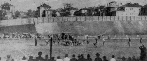 On the 7th of October, 1916, a college football game was played between Cumberland and Georgia Tech in Atlanta, USA. Tech on the left. Score 0 - 222