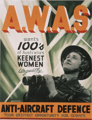 AWAS_-_poster Australian Women's Army Service Recruitment poster