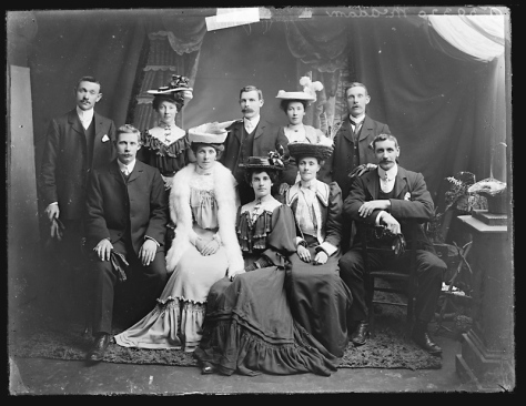 Creator H. Allison & Co. Photographers Date 22nd November 1906 McAdam family of Ashfield, Cootehill, County Cavan. Ireland Edwardian Era