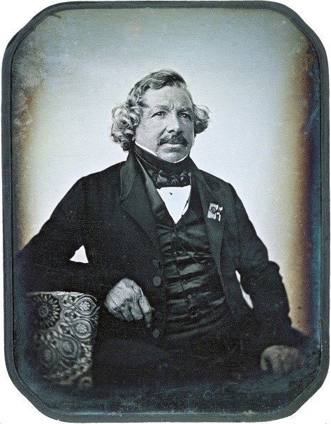 Louis_Daguerre_2 Portrait of Louis Daguerre (1787-1851) Father of Photography in 1844