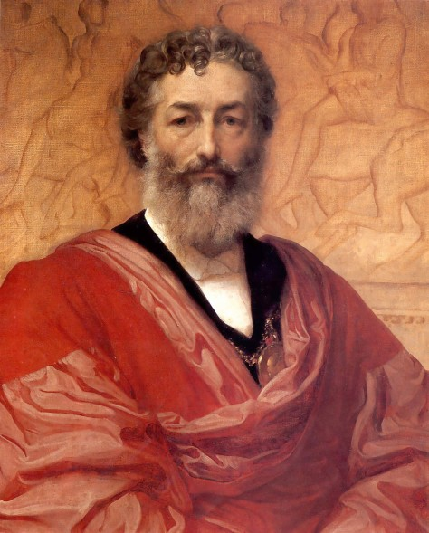1880_Frederic_Leighton_-_Self_portrait Frederic Leighton, 1st Baron Leighton PRA (3 December 1830 – 25 January 1896). English painter.