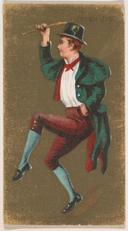 Irish Jig, from National Dances (1889). X X