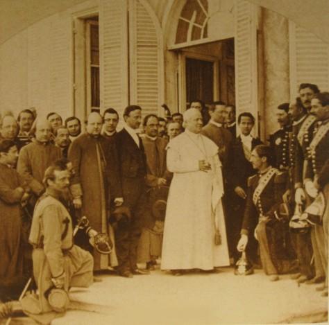 Pio_IX_04Foto scattata nel 1862 ad Anzio - autore naturalmente deceduto da oltre 100 anni Pope Pius IX 19th Century Catholicism Christian