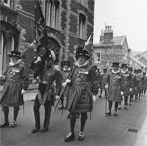 Prince_Charles'_Investiture_1_(1559160)Photographs by Welsh photo journalist Geoff Charles Prince Charles' Investiture at Caernarfon Castle 3rd July 1969