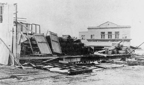 StateLibQld_2_187151_Destruction_of_the_Burns,_Philp_and_Company's_Bulk_Store_in_Townsville_caused_by_Cyclone_'Leonta',_1903Cyclone Leonta was a tropical cyclone that caused severe damag