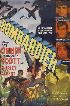 Bombardier_movieThe American film Bombardier was released on the 14th of May, 1943. Concerning the training of United States Army Air Forces bombardiers, the movie was unpopular with cri