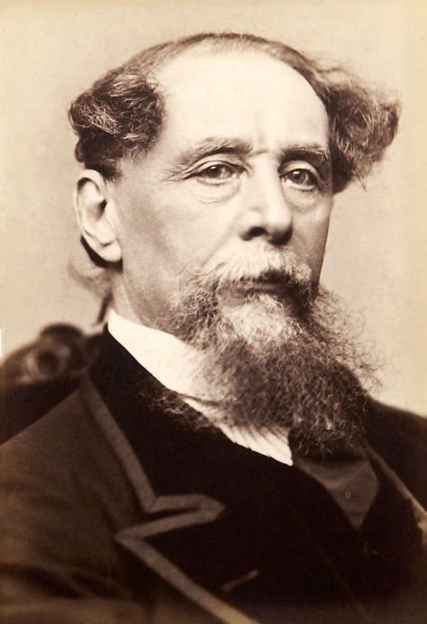 Dickens_Gurney_head Charles Dickens (1812-1870) between 1868 and 1867