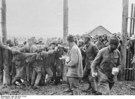 Lager Winnica, gefangene Russen