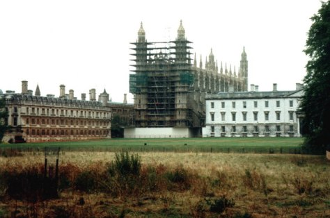 Kings_College_Chapel_1987_-_geograph_org_uk_-_882971Kings College Chapel 1987 Kings College Chapel Cambridge with scaffolding renovations 18th July 1987. England Vintage Retro