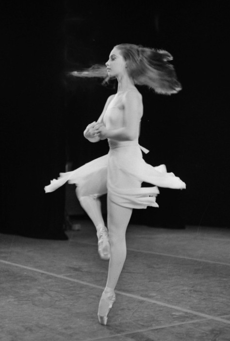 New York City Ballet in Amsterdam Suzanne Farrell. 25th August 1965.
