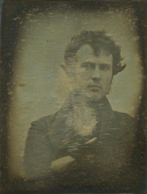 Robert Cornelius was an American pioneer of photography and a lamp manufacturer. World's first selfie 1839.