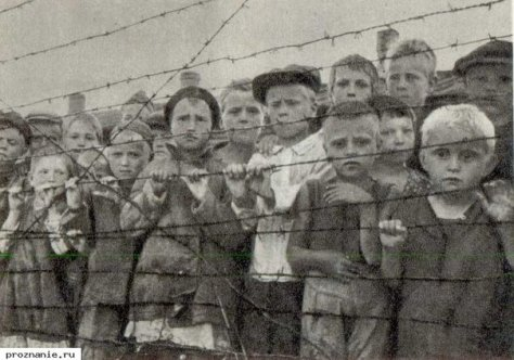 D0-Mgs7XQAITWXP These aren't children in a Nazi concentration camp they're Soviet children in communist gulags during Stalin's reign.