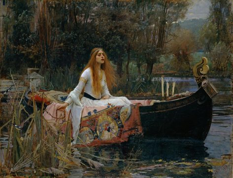 John William Waterhouse The Lady of Shalott 1888