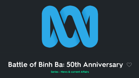 Batlle of Binh Ba Vietnam War 50th Anniversary Canberra Australia 5th June 2019